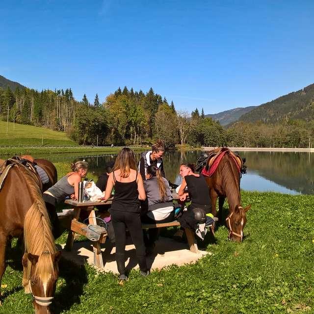 Initiation à la balade à cheval dans le massif de Belledonne