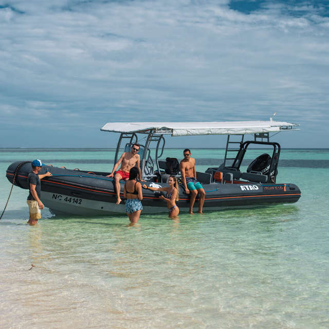 Sortie observation des baleines - Atao taxi boat