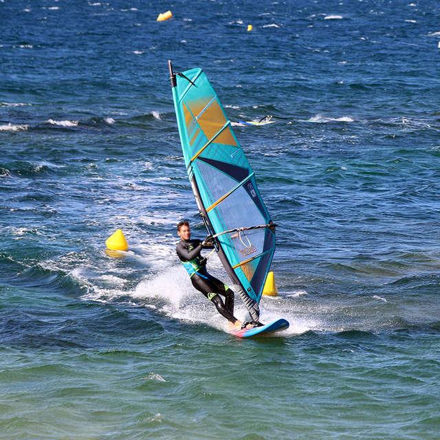 Spot de planche à voile de la plage de Port Grimaud 1
