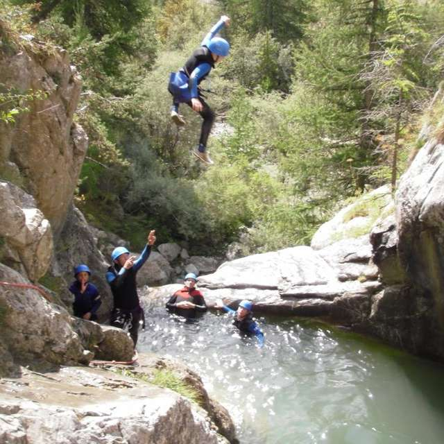 Sporting canyoning - Le Rabou