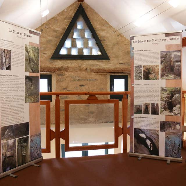 Les Mines de l'Oisans exhibitions