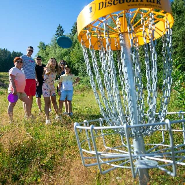 Parcours d'Orientation Disc Golf Prapoutel les 7 Laux