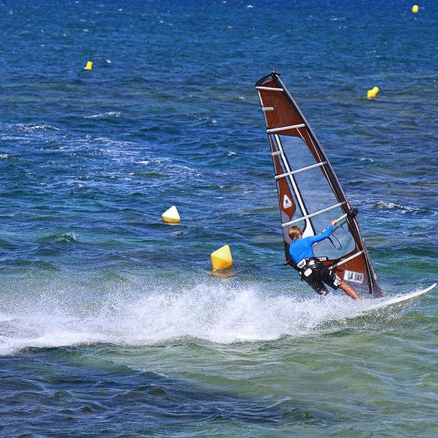 Windsurfing spot at St-Pons-les-Mûres beach