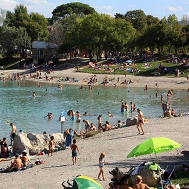 Plan d'eau de Plantain - Lac de Peyrolles