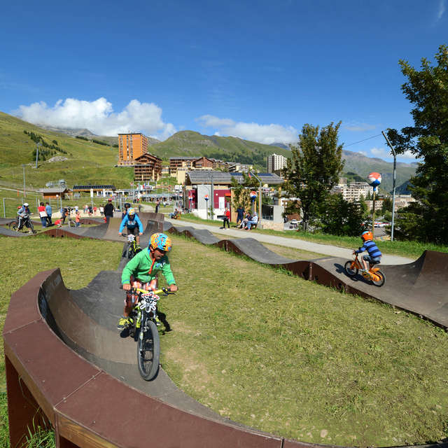 Cycling activity on the Pumptrack