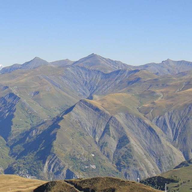E-MTB - Mont de Lans loop via the Petite Aiguille