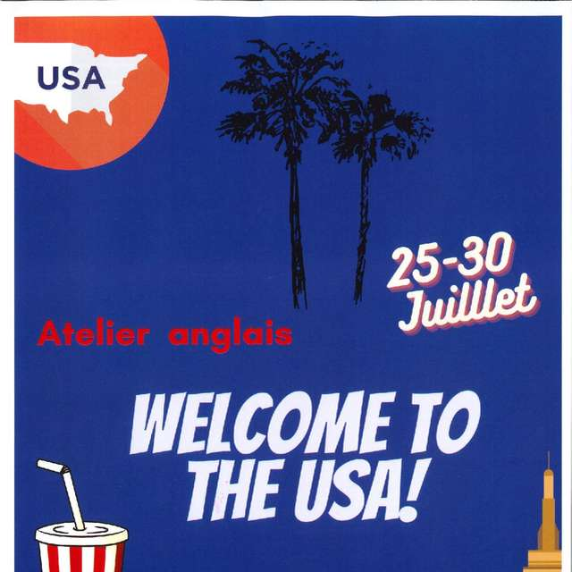 Atelier d'anglais -  Welcome to the U.S.A