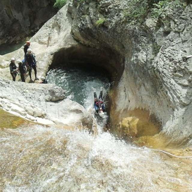 Canyon de Rabou avec François Chaix VEGA Passion