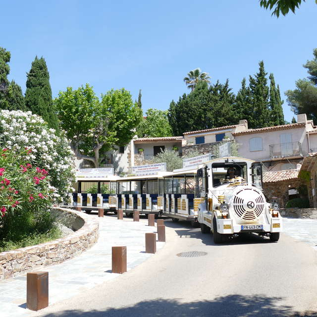 Petit Train Touristique de Grimaud