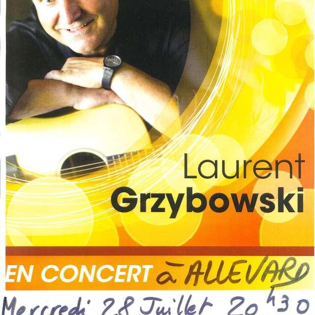 Concert de Laurent Grzybowski