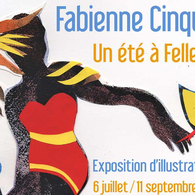 Exposition d'illustrations : Fabienne Cinquin, un été à Felletin