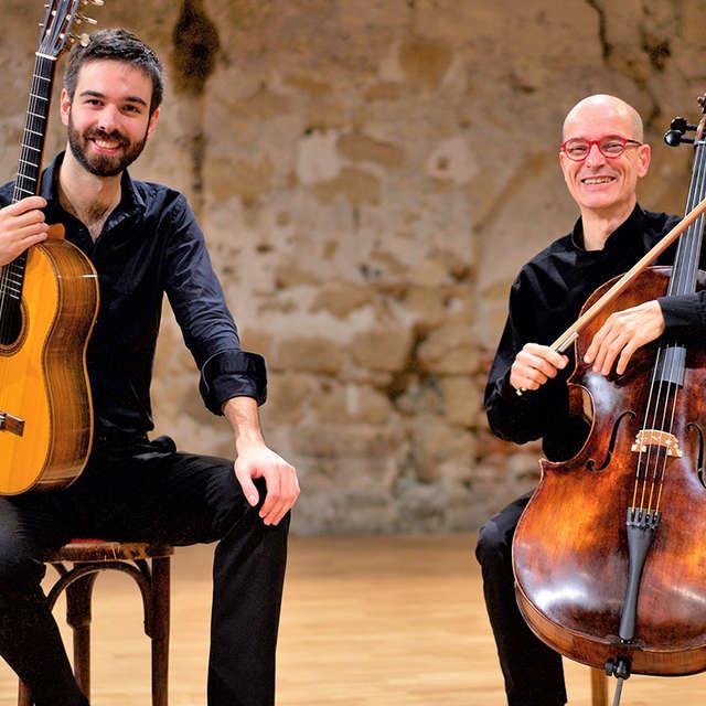 10ème festival Cordes & Compagnies : Duo Nouhaud-Bleton (violoncelle-guitare)