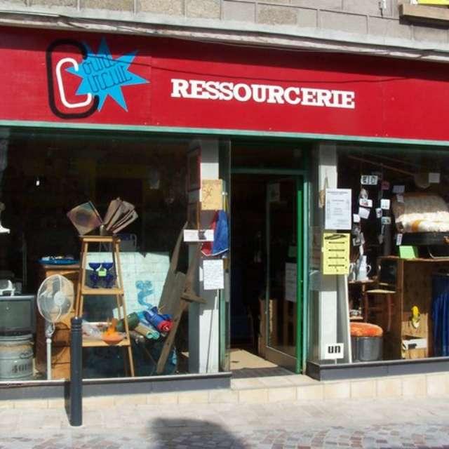 Visite de la ressourcerie Court-Circuit