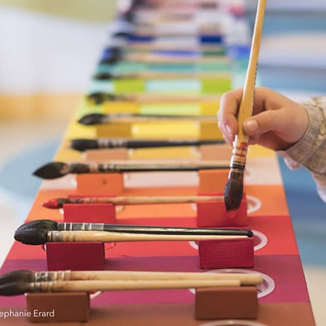 Atelier du jeu de peindre