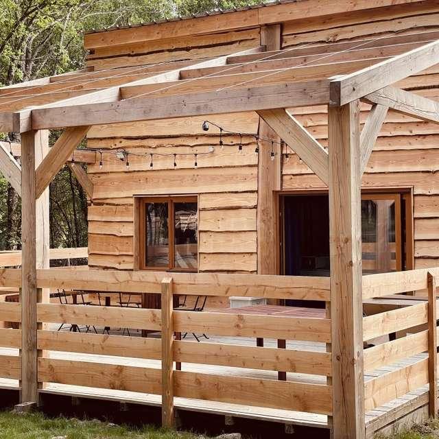 Location Les Cabanes de Lou-loup - La cabane Nojito - 5 personnes