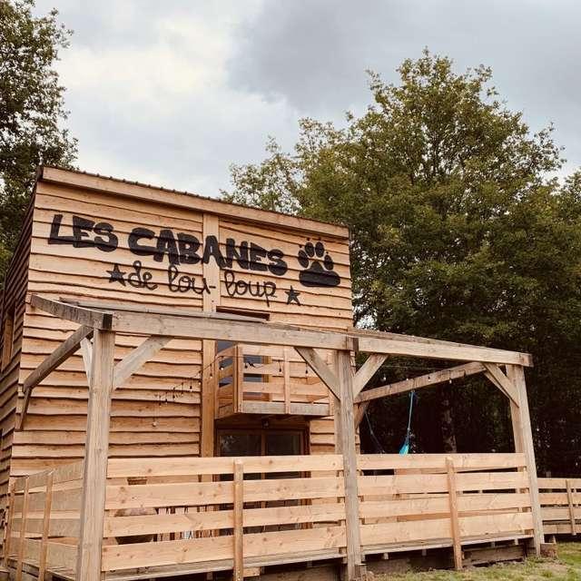 Location - La cabane Newton- 8 personnes