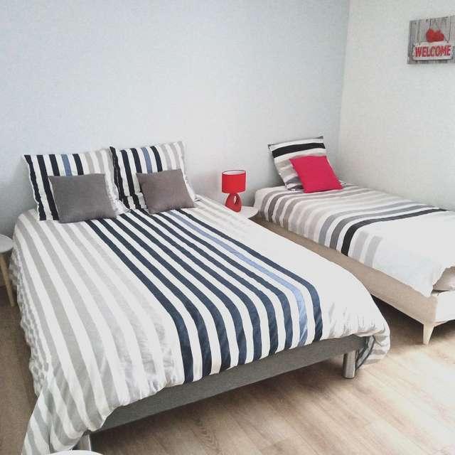 'la prairie de Philoïse' - family bedroom for 3