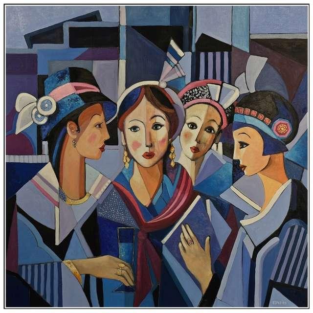 Exposition de peinture de René Esposito