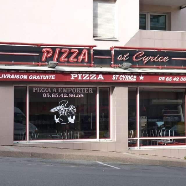 Pizza Saint Cyrice