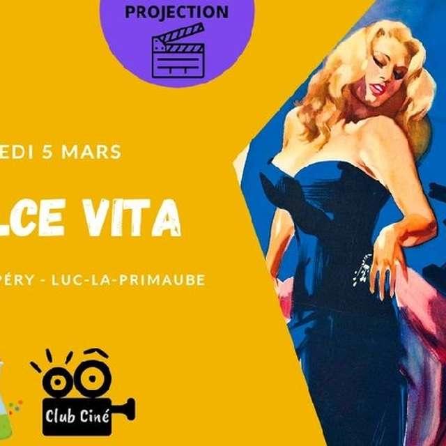Cinéma : Projection de La Dolce Vita