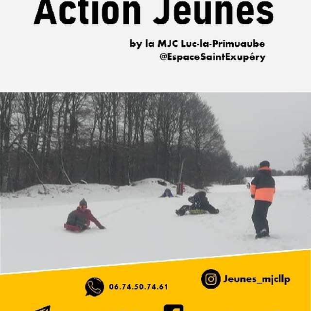 Vacances d'Hiver à la MJC de Luc-la-Primaube (10-17 ans)