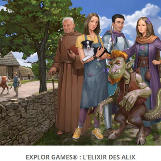 Explor Game®  L'Elixir des Alix