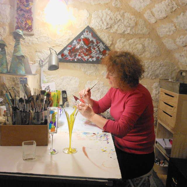 Murièle Rames ~ Création de bijoux, art de la table