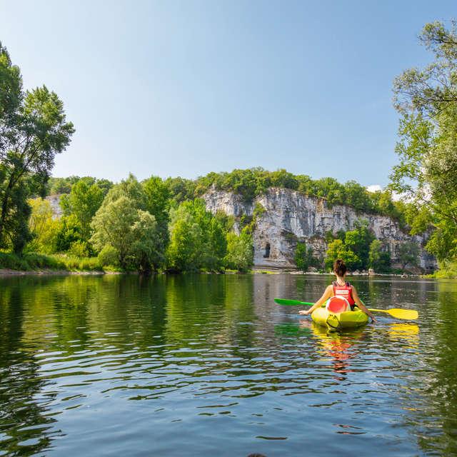 Canoës Safaraid Dordogne - Base de St Sozy