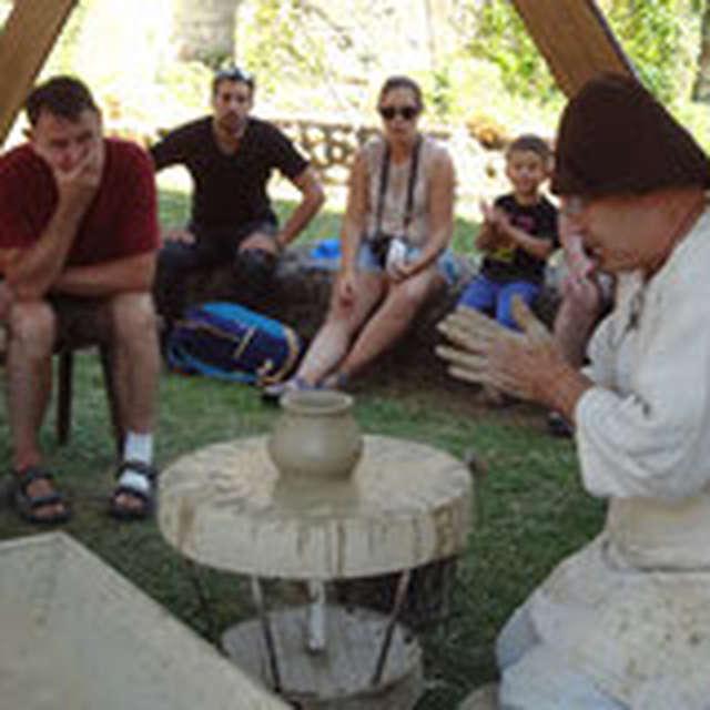 Atelier poterie au Château