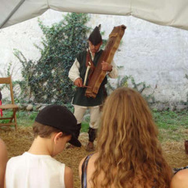 Atelier de musique médiévale