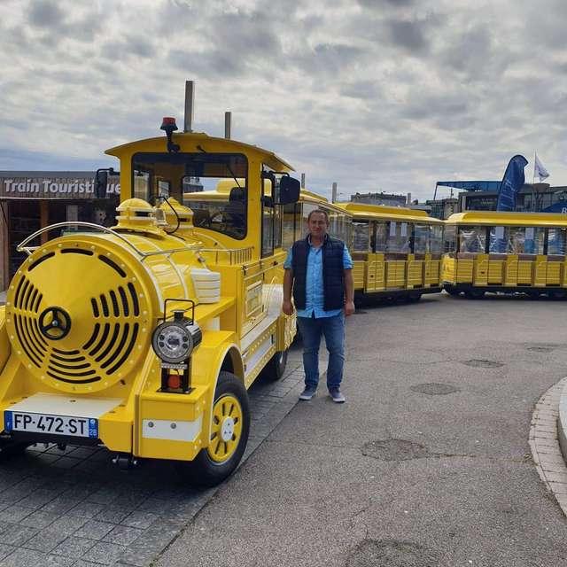 Petit train touristique de Dieppe