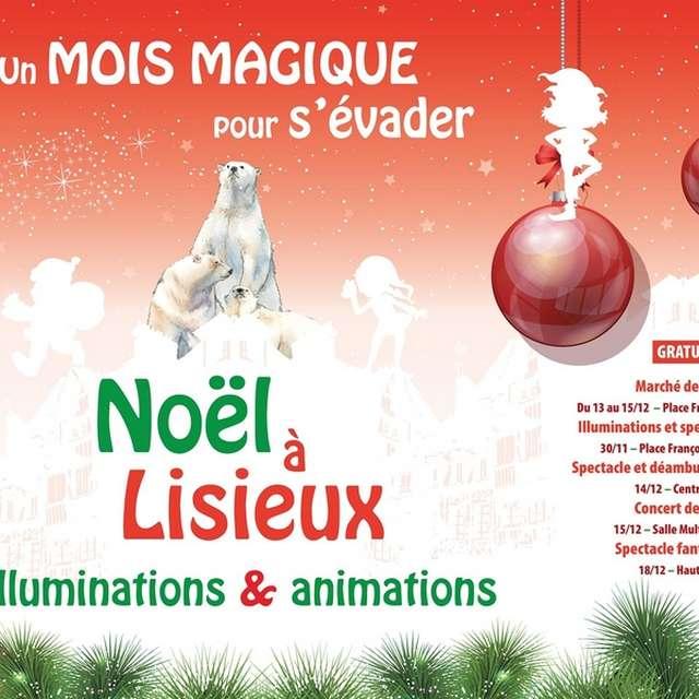 Marché de Noël à Lisieux