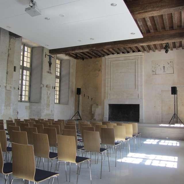 Auditorium of Saint-Pierre-sur-Dives's Abbey