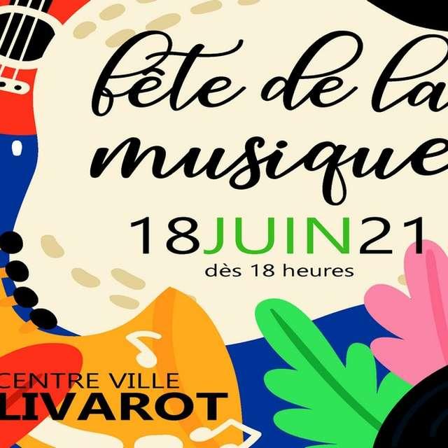 Fête de la musique à Livarot édition 2021