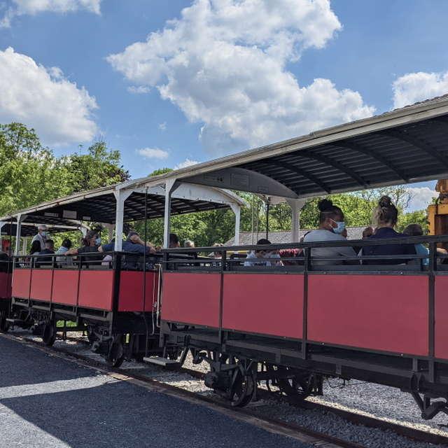 Le chemin de fer de Bon-Repos