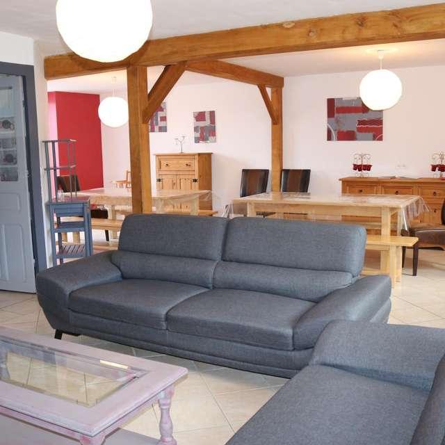 Location Gîtes de France - LE BOURG D'HEM - 11 personnes - Réf : 23G1400