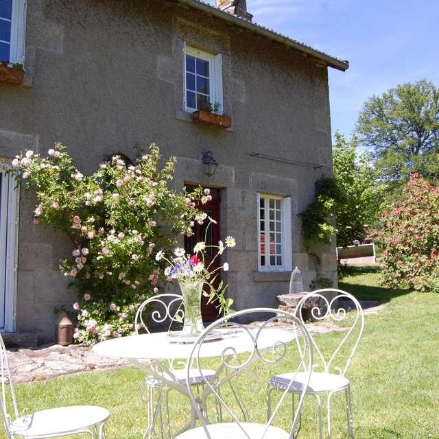 Location Gîtes de France - MAISONNISSES - 5 personnes - Réf : 23G1454