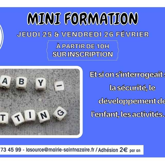 Mini-formation baby-sitting