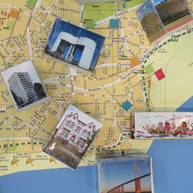 Paysage carte postale à l'Écomusée