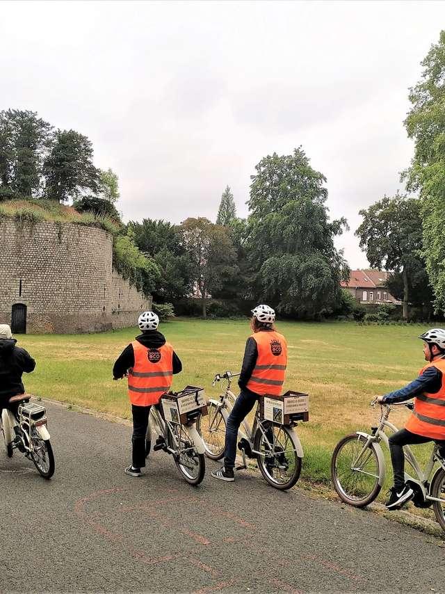 Échappée à vélo électrique - Douai secret défense