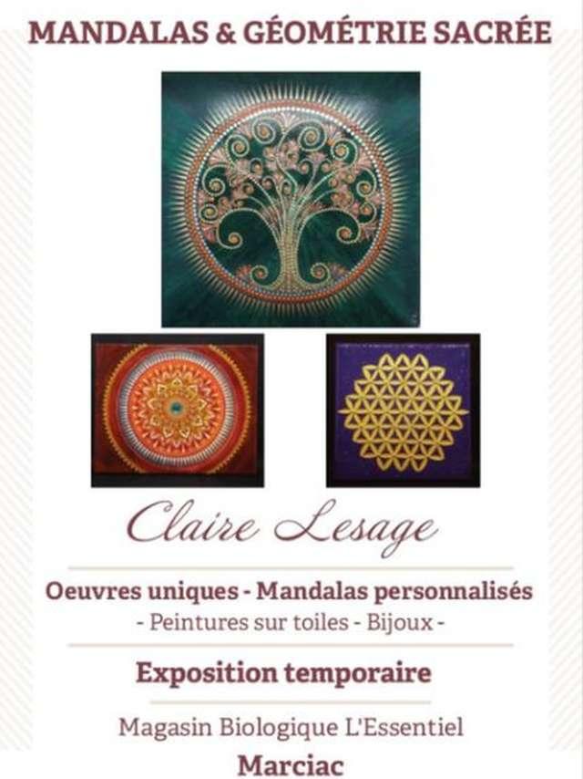 EXPOSITION MANDALAS ET GÉOMÉTRIE SACRÉE