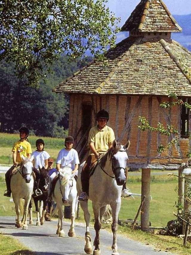 Séjour enfant : équitation passion en Quercy