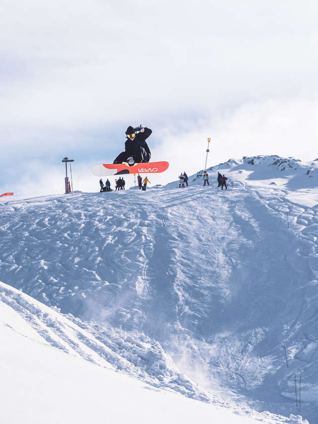 Championnats de France de Snowboard de Big Air et de Slopestyle