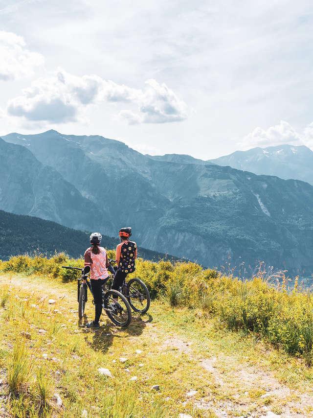 Mountain bike lessons - Gravity Bike Bureau des Guides des 2 Alpes