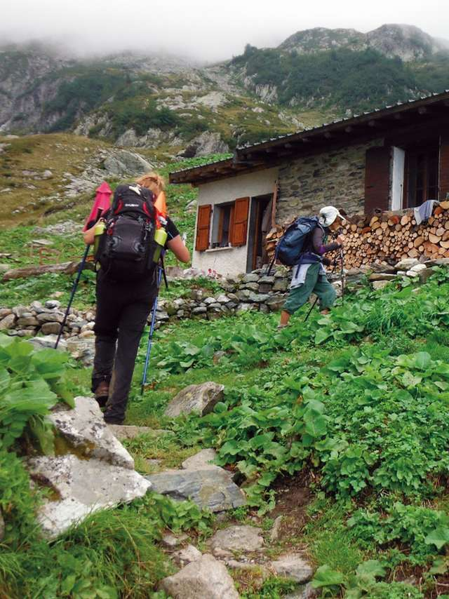 Etape 5 : Gîte d'alpage de l'Oule - Gîte d'étape de la Martinette GR® 738