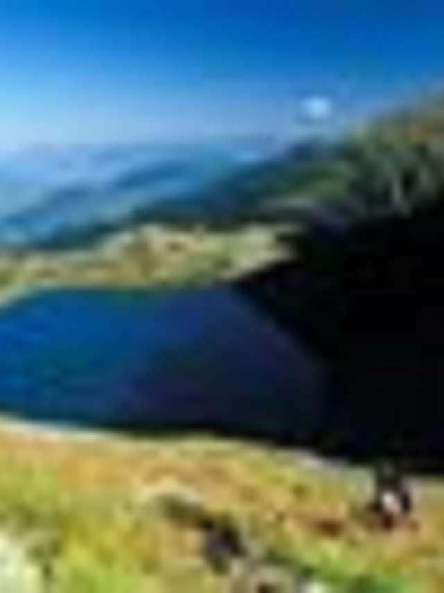 Pont de la Betta - Le lac de Crop