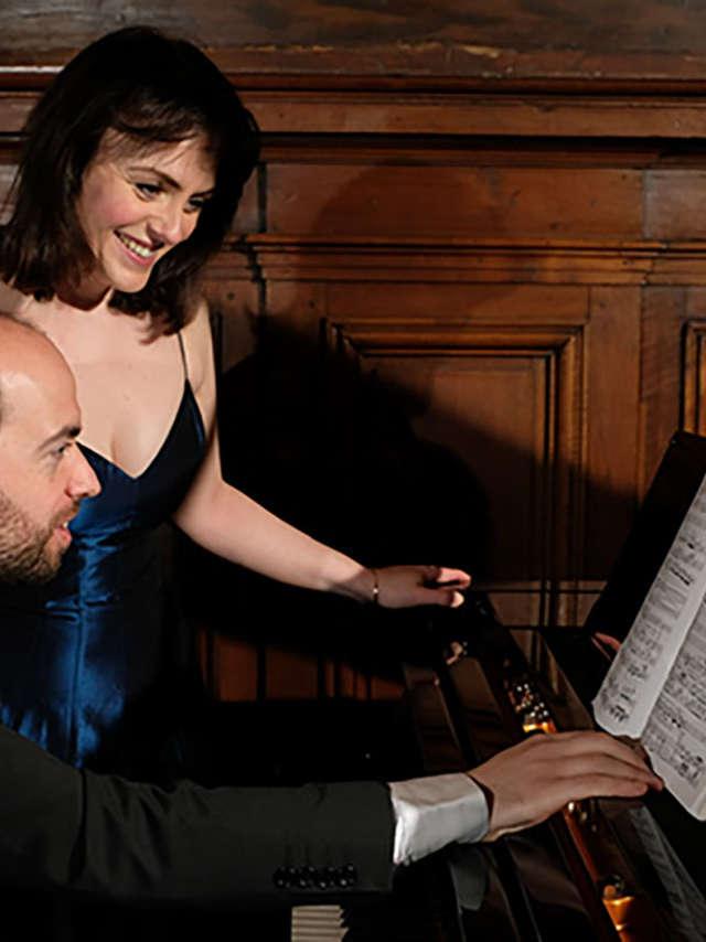 Vienne lyrique, du lied à la valse, François Dumont & Helen Kearns