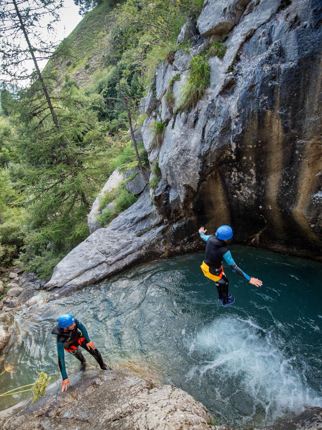 Canyon de Rouannette - Bureau des Guides Champsaur Valgaudemar