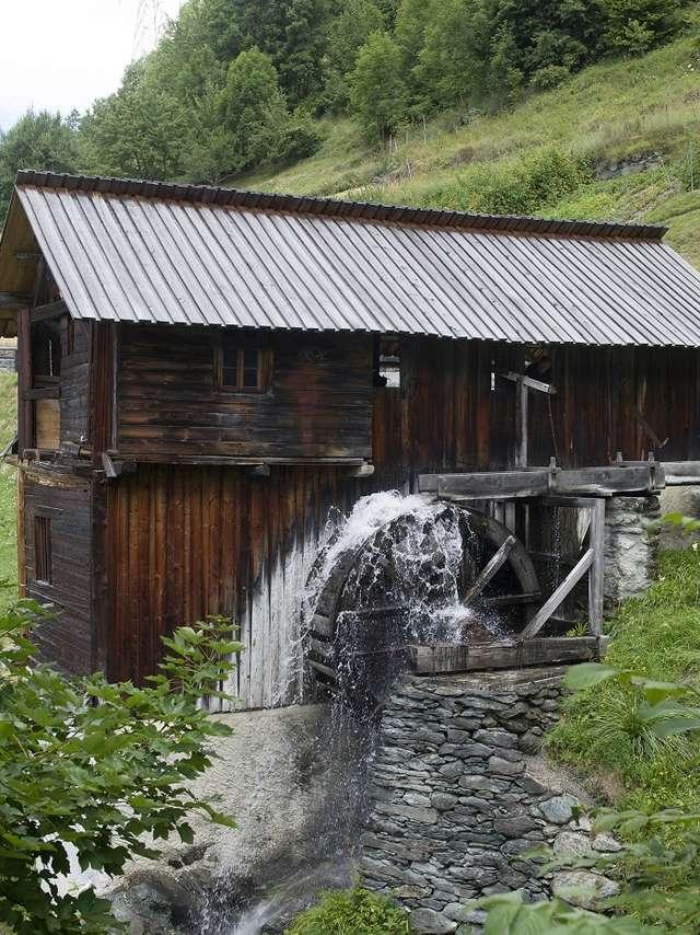 Scie et moulins de Sarreyer