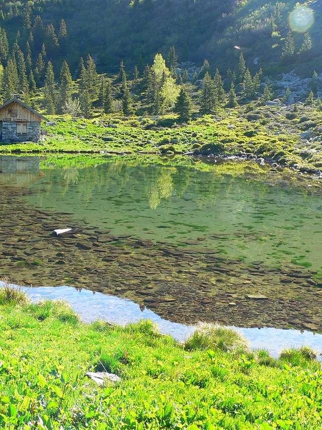 Le Gleyzin - Le lac du Léat